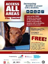 Access All Area Film Festival 2011, feature movie RED DOG