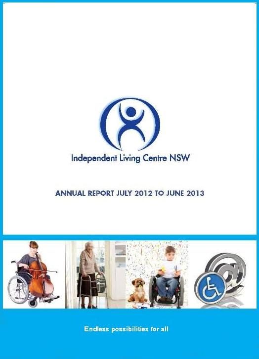 Cover of the 2012-2013 ILC Annual Report