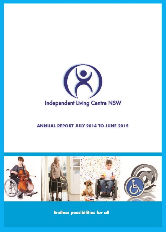 Cover of the 2014-2015 ILC Annual Report