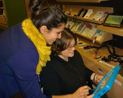 Training in using Assistive Technology