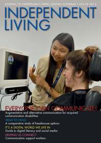 cover of independent living journal