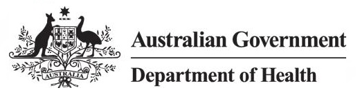 Logo for Australian Government Department of Health