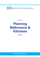 cover of the planning guide to kitchens and bathrooms