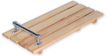 Timber Bath Board With Handgrip
