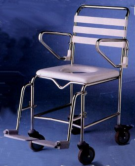 K-Care Child Mobile Shower/Commode Chair