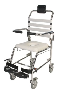 Aspire Shower Commode With Foot Plates (Junior/Child)