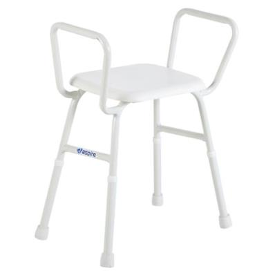 Shower Stool N05382 1 Nuvo Corner Shower Stool With