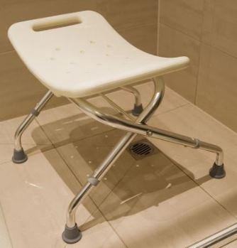 Award Eziliving White Folding Shower Seat