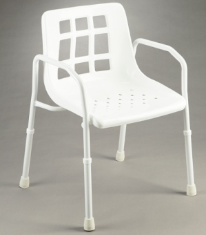 Care Quip Shower Chair With Arms B4002