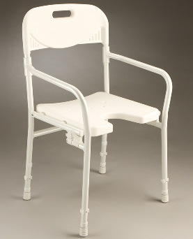 Care Quip Folding Shower Chair B1175