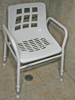 Auscare Aluminium Shower Chair