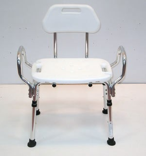 heavy duty shower chair with arms