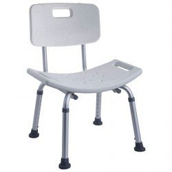 Gilani GE03798L Height Adjustable Shower chair