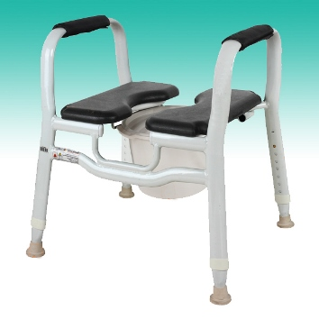 Split Seat Shower Chair