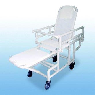 Polymedic Reclining Shower Transporter
