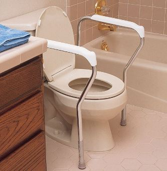 Lumex Toilet Safety Frame NC28950