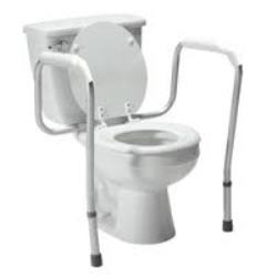 PCP Toilet Safety Frame Fixed