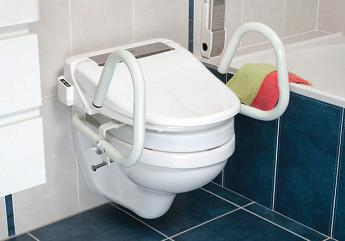 Throne Accessories 3-in-1 Toilet Support Rail System