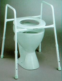 Incredible K Care Adjustable Toilet Seat Raiser Assistive Technology Spiritservingveterans Wood Chair Design Ideas Spiritservingveteransorg