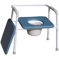 Auscare Bariatric All-in-One Shower/Commode Chair