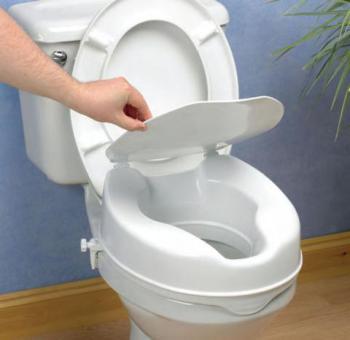 Savanah Raised Toilet Seat