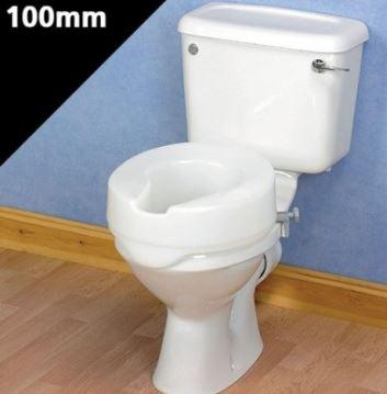 Ashby Raised Toilet Seat