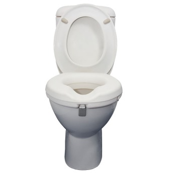 Safety & Mobility Raised Toilet Seat With or Without Armrests