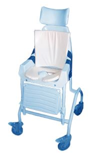 Child's Commode and Back Cushion