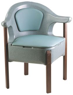 Derby Deluxe Corner Commode CR1715