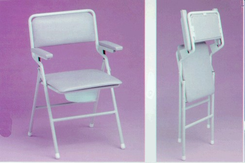 K-Care Folding Commode Chair - KA500ZFV03
