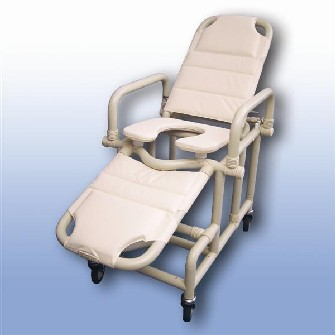 Polymedic Mobile Shower Recliner  sc 1 st  Assistive Technology Australia : reclining commode - islam-shia.org
