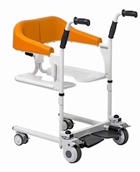 Gilani Transfer Commode and Over Toilet Wheelchair