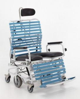 Bari 385 Bariatric Commode Shower Chair