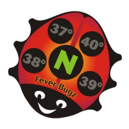 Fever Bugz Stick on Fever Indicators