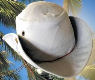 Wide Brim Cooling Hat