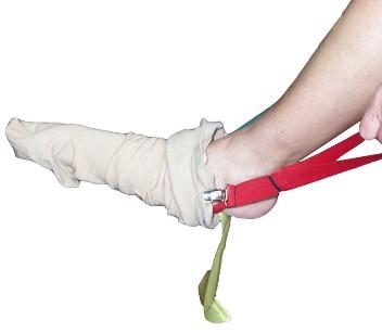 Stocking Slider For Enclosed Toe Stockings
