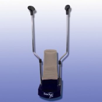 Socks-Jet Stock Applicator With Doffing Bars