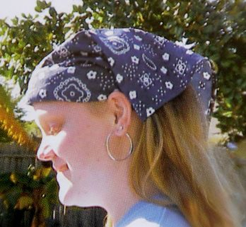 Head Band Scarf Cooler