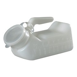 BetterLiving Male Urinal Standard With Lid