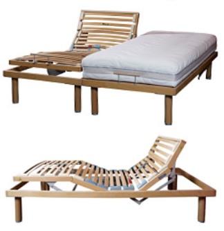 Ergo Deluxe Electric Adjustable Slat Bed Base