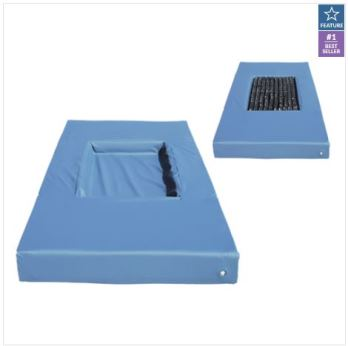 Lifecomfort Pressure Reducing Mattress with ROHO Insert Cut Out