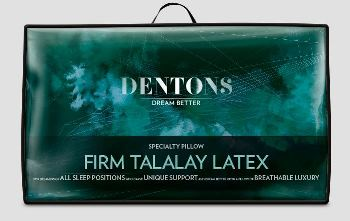 Dentons Talalay Latex Pillow