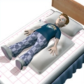 Leckey Sleepform Bed Positioning System