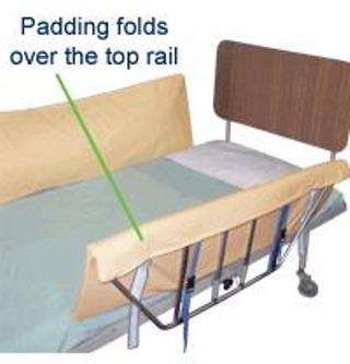 Pelican Bed Rail Protector - Strap On - 214