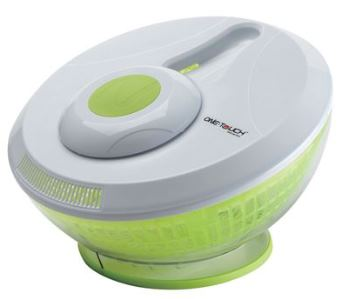 One Touch Automatic Salad Wash and Spin