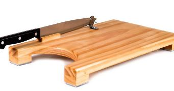 Chopping Board With Knife Left Handed