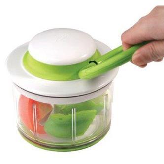 Chef\'n Veggichop Hand Powered Vegetable Chopper | Assistive ...