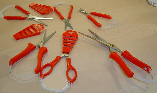 Stirex Range Of Assisted Opening Scissors
