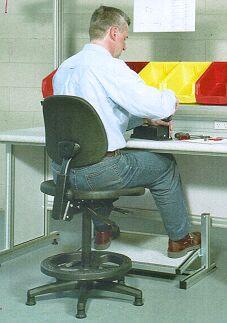 Ergochair Workstation / Drafting Chair