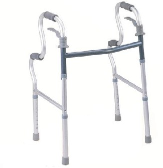 Lightweight Walking Frame With Dual Height Handles